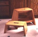 Step Stools Downloadable Woodworking Plan PDF, step stools,wooden,short,downloadable PDF,patterns,tall,woodworking plans,woodworkers projects,blueprints,WOODmagazine,WOODStore