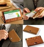 fee plans woodworking resource from WoodworkersWorkshop Online Store - business card holders,case,wooden,downloadable PDF,patterns,desk top,woodworking plans,woodworkers projects,blueprints,WOODmagazine,WOODStore