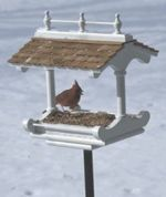 31-MD-00416 - Bird Feeder Victorian Style Woodworking Plan