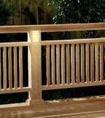 Deck Railing With Built In Lighting Downloadable Woodworking Plan PDF, deck railings,lighting,outdoors,downloadable PDF,patterns,railings,woodworking plans,woodworkers projects,blueprints,WOODmagazine,WOODStore