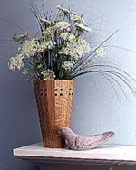 31-MD-00420 - Staved Vase Woodworking Plan