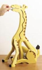 Money Hungry Giraffe Bank Woodworking Plan.
