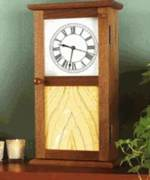 Shaker Clock Woodworking Plan