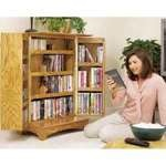 Media Storage Woodworking Plan