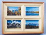 Four in One Photo Frame Woodworking Plan