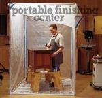 Portable Finishing Center Woodworking Plan