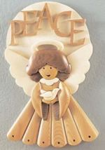 Intarsia Masterpeace Angel Woodworking Plan