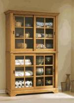 Sliding Door Cupboard Woodworking Plan ... & Sliding Door Cupboard Woodworking Plan - WoodworkersWorkshop
