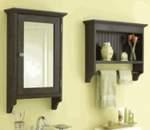 Matching Bathroom Cabinets Woodworking Plan Set.