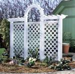 Arched Trellis Woodworking Plan.