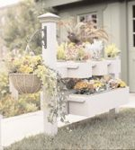 Fence Planter Woodworking Plan