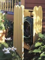Garden Hose Hider Woodworking Plan