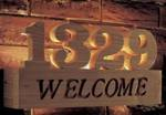 31-MD-00466 - Welcome Sign Woodworking Plan