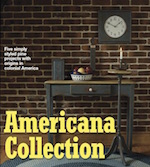 Americana Collection Woodworking Plan, dp-00473,americana,sofa table,candlestand,candls stand,candle box,wall box,clock,country,fee woodworking plans,projects,patterns,blueprints,build,construction,how to,diy,do-it-yourself