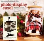 Photo Display Easel Woodworking Plan