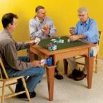 Reversible Top Game Table Woodworking Plan.