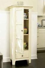 Country Classic Chimney Cupboard Woodworking Plan.