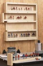 31-MD-00501 - Easy Access Router Bit Organizer Woodworking Plan