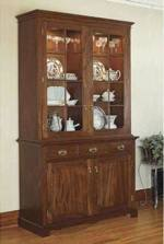 31-MD-00502 - Heirloom China Cabinet Woodworking Plan.