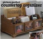 fee plans woodworking resource from WoodworkersWorkshop Online Store - desktop organizer,countertop organizer,downloadable PDF,patterns,desk set,storage,offices,kitchens,woodworking plans,woodworkers projects,blueprints,WOODmagazine,WOODStore