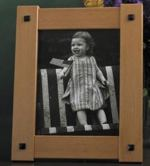 Buttoned Up Picture Frame Woodworking Plan