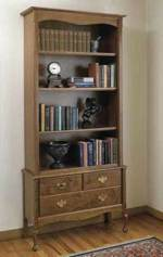 Heirloom Bookcase Woodworking Plan