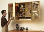 Shop In A Box Tool Cabinet Woodworking Plan.