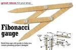 Fibonacci Gauge and How to Use It Woodworking Plan