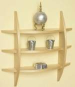 31-MD-00528 - Contemporary Wall Shelf Woodworking Plan