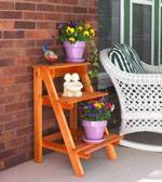 Step By Step Plant Stand Woodworking Plan.