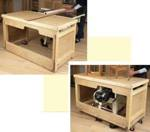 Tablesaw Workbench Woodworking Plan