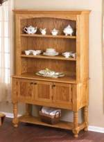 Oak Hutch Woodworking Plan