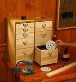 Shop Organizer with Drawers Downloadable Woodworking Plan PDF, cabinets,workshops,storage,downloadable PDF,patterns,woodworking plans,organizers,woodworkers projects,blueprints,WOODmagazine,WOODStore