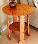 Mission End Table Woodworking Plan
