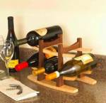 31-MD-00607 - Wine Rack Woodworking Plan
