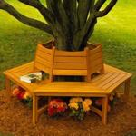 31-MD-00612 - Tree Bench Woodworking Plan.