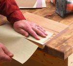 Sandpaper Cutting Jig Woodworking Plan