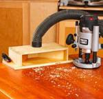 Dual Purpose Dust Chute Woodworking Plan
