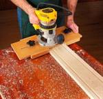 Fluting Jig Woodworking Plan
