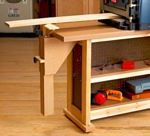 Right Height Outfeed Support Woodworking Plan