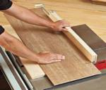 Panel Cutting Sled Woodworking Plan