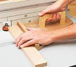 Right Angle Router Table Push Pad Woodworking Plan