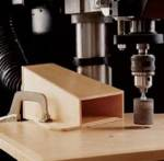Drill Press Dust Collector Woodworking Plan