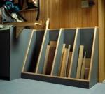 31-MD-00674 - Cutoff Catchall Lumber Rack Woodworking Plan
