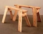 Back to Basics Sawhorses Woodworking Plan