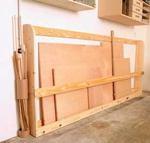 Sheet Goods Rack Woodworking Plan