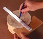 On The Mark Centerfinder and Trammel Woodworking Plan