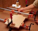 Pipe And Bar Clamp Blocks Woodworking Plan