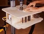 Drill Press Drum Sanding Table Woodworking Plan
