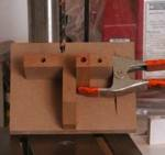 Pen Blank Drilling Jig Woodworking Plan